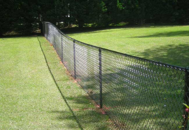 property chain link fencing