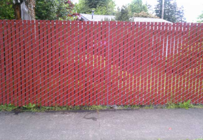 Enclosures Chainlink Slats Garden Fencing Gates