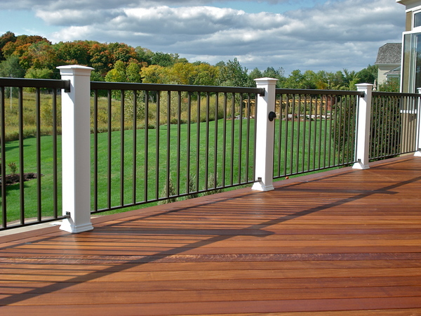 Railings Iron Aluminum Vinyl Amp Pvc All4fencing
