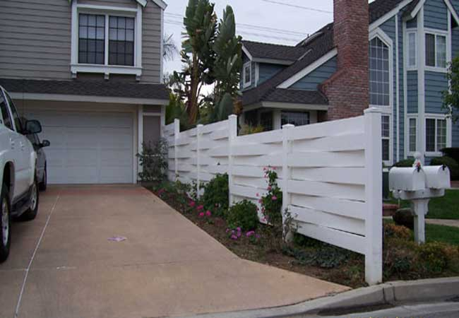 Vinyl Fencing Pvc Fence Railings Installation